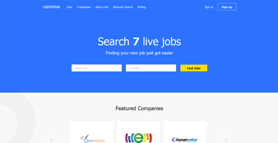 Online Job Portal Website Design And Development Company In India